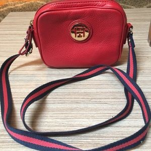 Tommy Hilfiger Red Mini Crossbody Bag